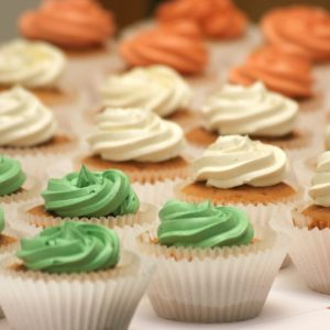 Cream Topping Cupcakes